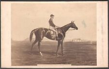 Hippisme. Cheval de course - Mlle de Chantilly. Photo Goupil. Vers 1870. CDV