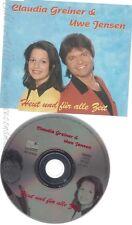 CD--CLAUDIA GREINER & JENSEN,UWE  -- --- HEUT UND FUER ALLE ZEIT