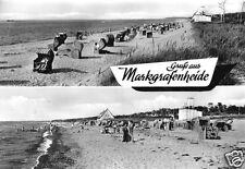 AK, Rostock Markgrafenheide, zwei Abb., 1968