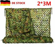 2x3m Tarnnetz Flecktarn Light Bundeswehr Tarn Army Camo Netz Tarnung BW Camping