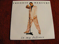 "Freddie  Mercury  In  My  Defence / Love  Kills  1992  Near Mint 7"" Vinyl Record"