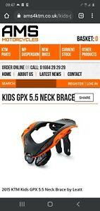 leatt gpx 5.5 neck brace Youth/kids/junior