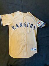 """IAN KINSLER Autograph -Signed Arizona Fall League """"Rangers"""" Jersey -Beckett SR!"""
