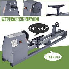 Preenex 14x40 Wood Lathe 12hp 3400rpm Benchtop Lathe W Faceplate Chuck Amp More