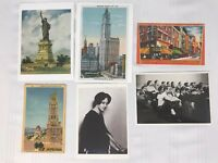 Lot of 6 Unused Postcards NY City New York State Chinatown Statue Liberty Church