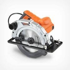 VonHaus 110/120V 185mm Circular Saw 1200W/10A/65mm Cutting Depth/Dust Extraction