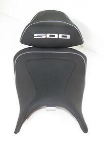 BAGSTER Sitzbank Sattel READY # Honda CB 500F + CBR 500R  # SILBER # 5346A A1