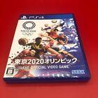 SEGA Olympic Games Tokyo 2020 Japanese Edition PS4 Used  NO Manual