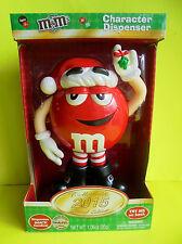 M&M M&M´s Spender Christmas Rot Weihnachten Dispenser Red Limited Edition 2015