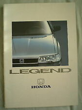 Honda Legend brochure c1988 Dutch text