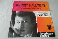 JOHNNY HALLYDAY DA DOU RON RON 45 DUTCH