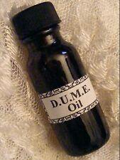 D.U.M.E OIL AUTHENTIC FORMULA ~ Voodoo, Santeria, Gothic, Black Arts, Dume