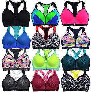Victoria's Secret Sports Bra Incredible Front Close Zip Vsx Underwire Vs New Nwt
