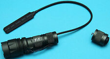 CREE LED Flashlight w/ Pressure Switch for KWA KRISS VECTOR Airsoft GBB SMG