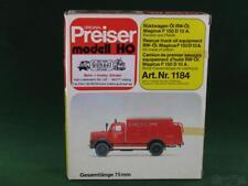 Preiser psr1184 Kit Magirus F 150 D 10 A R üstwagen huile RW-pétrole Piste h0
