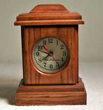 Geo. L. Sawyer 1997 Radio Controlled Wood Mantle Clock