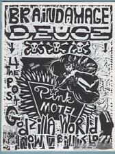 BRAINDAMAGE #2 minicomix ALICJA TROUT small press punk art zine minicomic 1990s