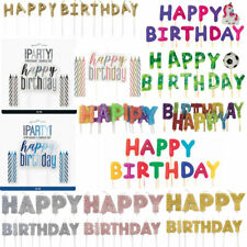 Happy Birthday Cake Candles Birthday Cake Toppers Anniversary Cake Topper Decor
