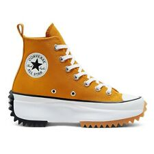 CONVERSE Run Star Hike Hi 'Saffron Yellow' Platform Shoes Sneakers 168893C
