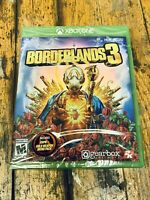 Borderlands 3 (Xbox One, 2019) With Gold Weapon Skins Pack
