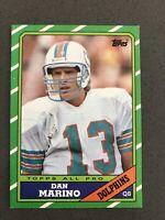 1986 Topps Dan Marino #45 Miami Dolphins HOF Pitt Panthers NM