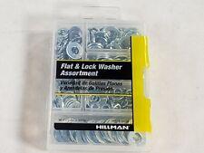 Hillman 130208 Silver Stainless Steel Flat & Lock Washer Assortment 277 Pcs Box