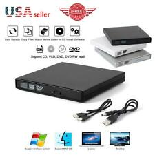 Portable USB 2.0 Ultra Slim External DVD-RW CD-RW Burner Writer Drive PC MAC A18
