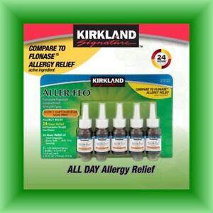 New Aller-Flo Nasal Spray Fluticasone 50mcg Flonase Allergy Relief, 1-5