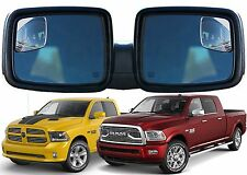 PAIR RM10 Blind Spot Mirrors Custom Made For 2009-2017 Dodge Ram Trucks New USA