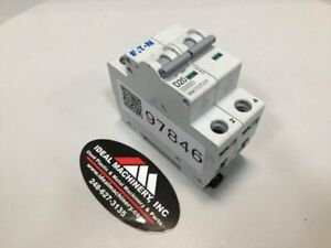 EATON CORPORATION Miniature Circuit Breaker WMZS2D20 Used #97846