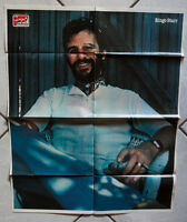 Ciao 2001 1980 very rare Beatles Ringo Starr poster 50x70 cm folded