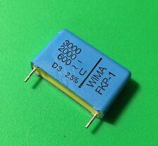 5 PCS WIMA Film Capacitor 3000pF 3NF 0.003UF 2.5% 2000V DC 600V AC ORIGINAL OEM