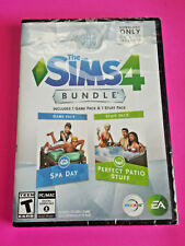 NEW - The SIMS 4: SPA Day & Perfect Patio Expansion Pack Bundle (PC / MAC)