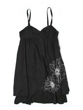New Women Liberty of London For Target Black White Embroidered Sun Dress Size 2