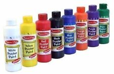Melissa and Doug Poster Paint set 8 - 8 ounce bottles in 8 colors red orange etc
