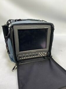 Sony LMD-9050 HD-SDI portable monitor with Portabrace bag