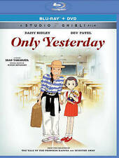 Only Yesterday Combined Blue Ray and DVD - EXC