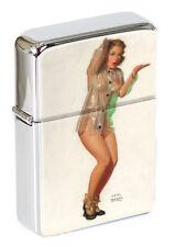 A Little Shower Pin-up Girl Flip Top Lighter