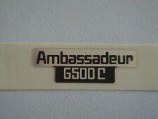 ABU Garcia Ambassadeur 6500C sticker - reproduction -