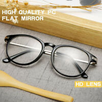 Classic Retro Clear Lens Glasses Eyewear Nerd Geek Eyeglass Designer Spectacles