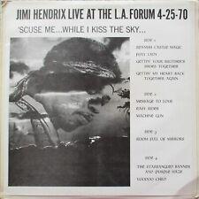 Jimi Hendrix Live At The LA Forum 1970 Unofficial Release Vinyl 2 x LP RARE