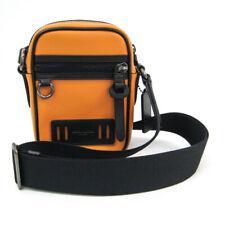 Coach Cross Body F77032 Men's Leather Sling Bag Camel BF505845