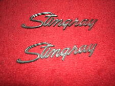 "1969-1976 Corvette Front Fender ""Stingray"" Emblems (2)"