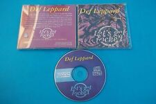 "DEF LEPPARD "" LET'S GET ROCKED"" CD 1993 LIVE IN USA MADE IN ITALY VERY RARE"