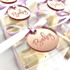 Personalized Engraved Wedding Baptism Baby Shower Gift Tags Decoration Favours