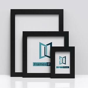 BLACK Picture Frames Square Photo Modern Poster Frame A1 A2 A3 A4 A5