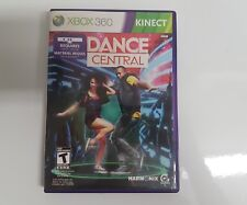 Dance Central (Microsoft Xbox 360, 2010) Complete In Box  (CIB) Tested & Working