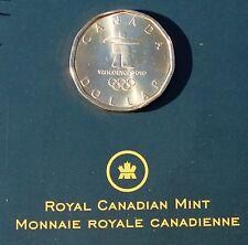 2010 Canada One Dollar Coin Lucky Loonie Inukshuk 2010 Olympics UNC RCM