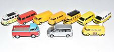 Schuco Wiking 10 Stück VW T1 T2 T3 Bulli Transporter / Bus 1:87