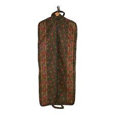 Vera Bradley Vintage Travel Garment Bag Forest Retired Pattern Green Floral